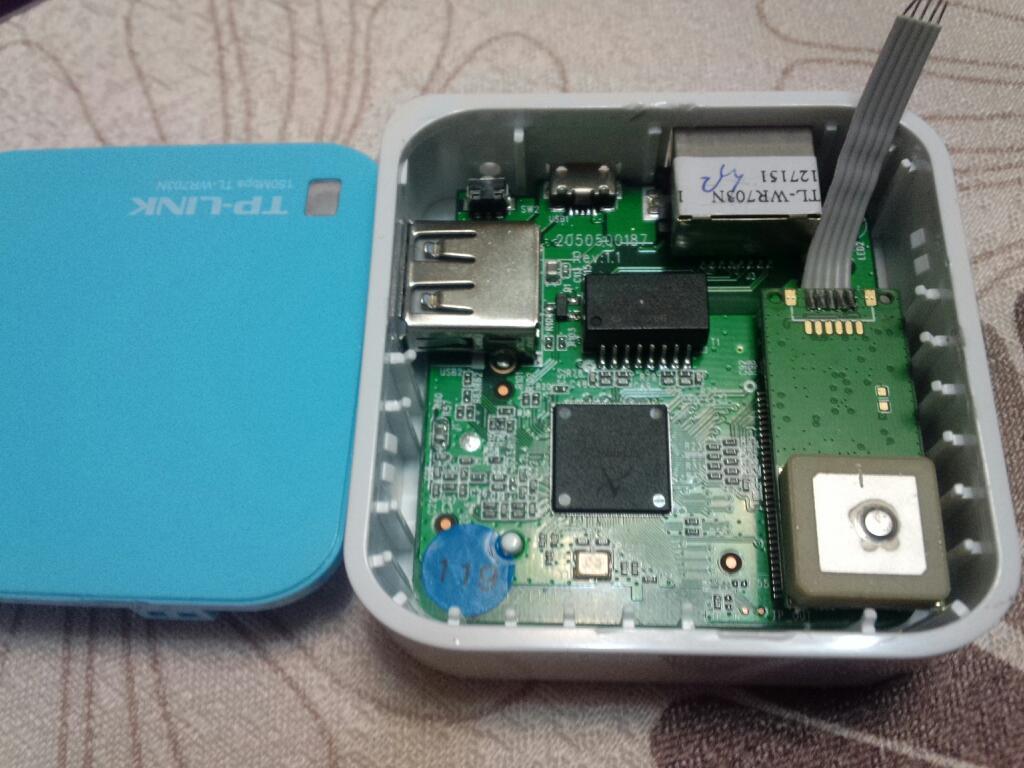 哈罗CQ火腿社区- APRS专题- 有人用TP-WR703N的TTL口连GPS模块